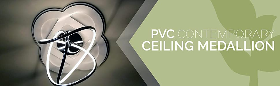 contemporary ceiling medallions