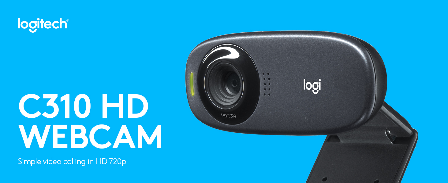 Amazon.com: Logitech HD Webcam C310, Standard Packaging - Black: Electronics
