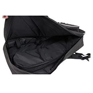 Fully padded with extra removable limb riser bag for max protection to your bow from scratches.