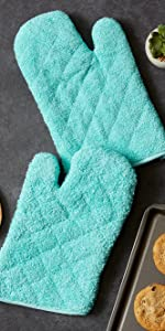 turquoise bbq cupcake safe splatter scraper scrubber butter protector square skillets mat dishes