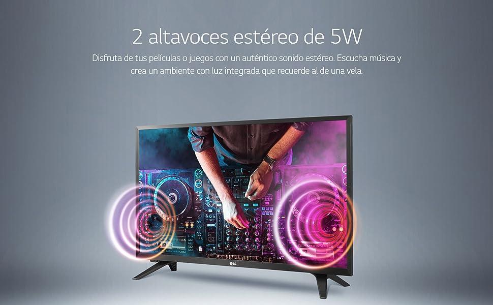 LG 24TL520S-PZ - Monitor Smart TV de 61cm (24