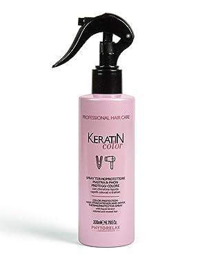 sprsay termoprotettore keratin color hair