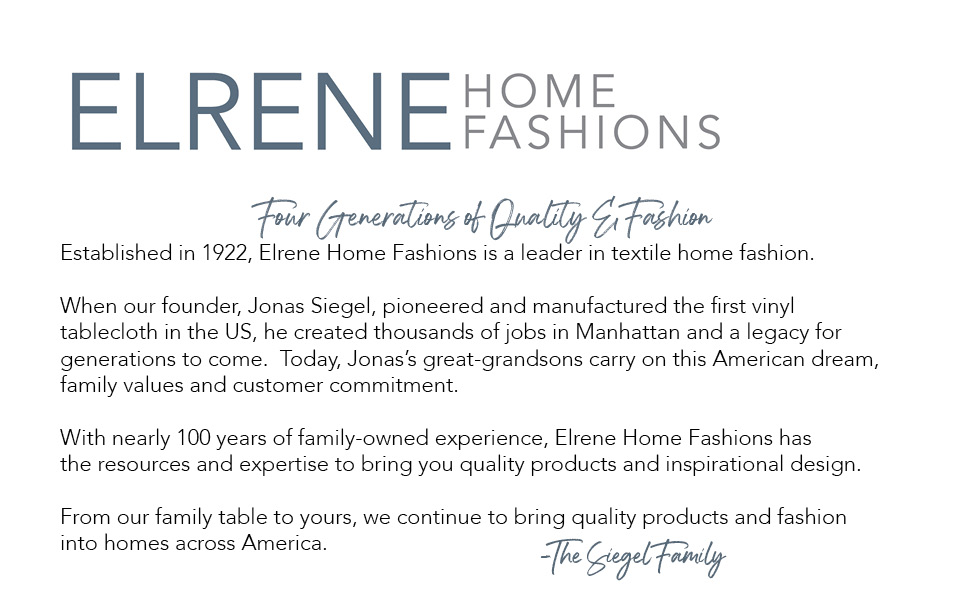 elrene home fashions company history made in america