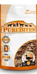duck; purebites; dog; treats