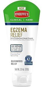 O'Keeffe's Eczema Relief Hand Cream, 2 oz