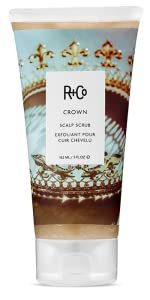 crown hair scalp scrub