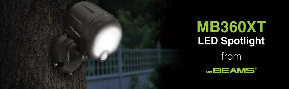 Mr Beams Wireless Battery Operated Outdoor Motion Sensor