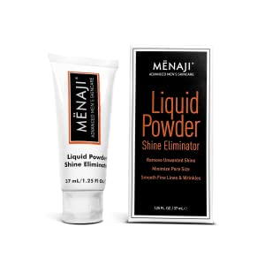 MENAJI Liquid Powder Shine Eliminator