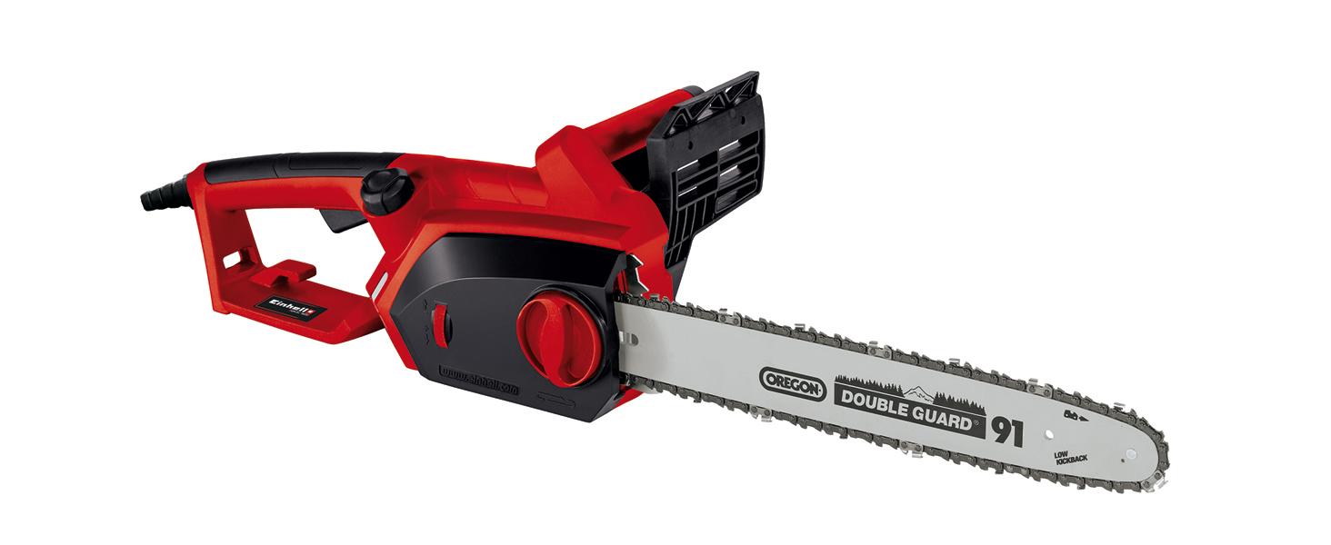 Einhell GH-EC 1835 -Motosierra eléctrica (1800W, longitud de corte: 325 mm, velocidad de corte: 13.5m/s, 7800rpm, espada y cadena de calidad OREGON) (ref. 4501710): Amazon.es: Bricolaje y herramientas