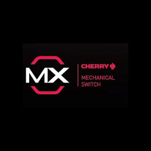 100% CHERRY MX Red Keyswitches