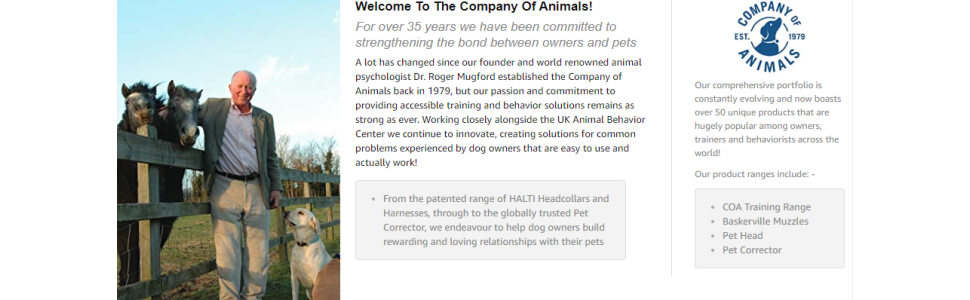 Welcome To The Company Of Animals