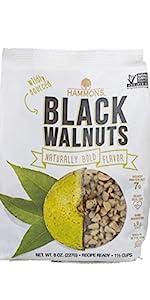 Hammons Black Walnuts American Wild Harvest Natural Protein