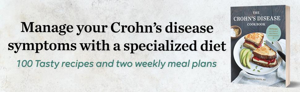 crohns disease books, crohns disease cookbook, crohns disease, ibs, crohns cookbook, crohns diet