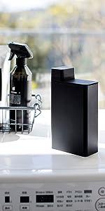 詰め替え用ランドリーボトル タワー ブラック 3588