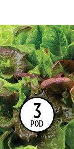 AeroGarden Heirloom Salad Greens