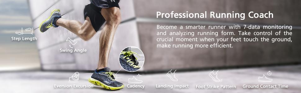 fitness tracker smart watch professional running coach