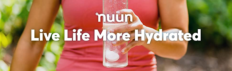live life more hydrated nuun