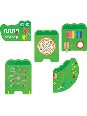 Viga Toys - Wandspiel - Krokodil: Amazon.de: Spielzeug