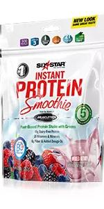 Protein Smoothie, Plant Based Protein, Vegan Protein