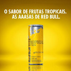 Edition, editions, Tropical, Açaí, coco, sabores, Red Bull, redbull, energetico,energia, asas