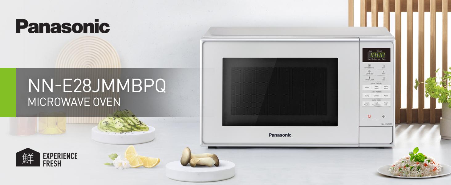 Silver Microwave Oven NN-E28JMMBPQ