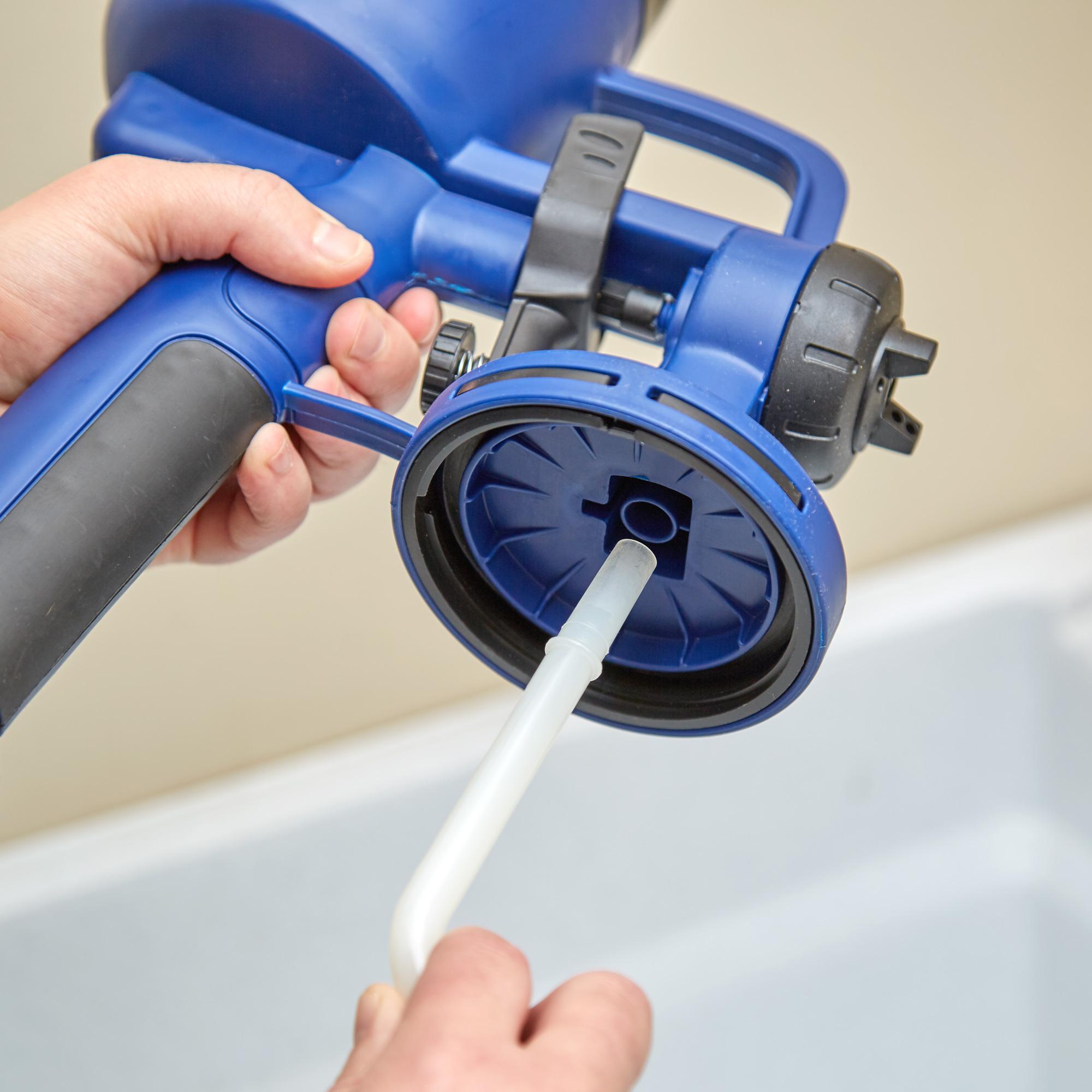 how to clean dewalt paint sprayer