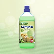 mimosin, suavizante, suavizante concentrado, suavizante aloe vera