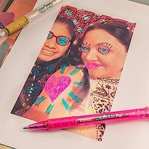sparkle pop photo paper