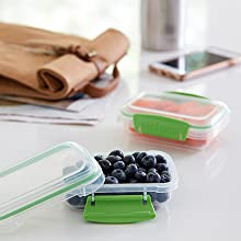 Super-portable so you can take fresh snacks on the go.