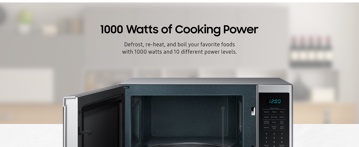1000W Cooking Power