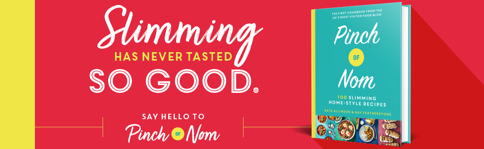 Slimming has never tasted so good Say Hello to Pinch of Nom