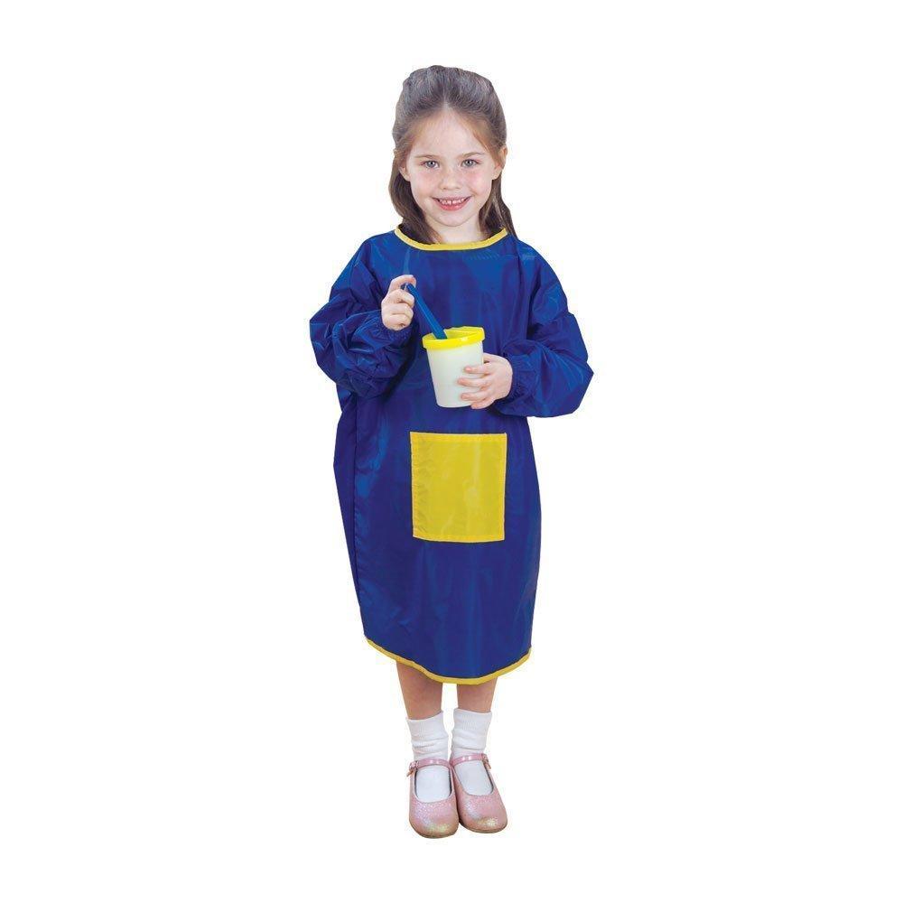 Amazon.com: CP Toys Long Sleeve Nylon Paint Smock, Blue