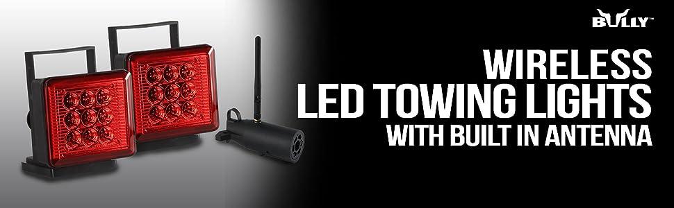 Amazon Com Bully Nv 5164 Wireless Led Towing Light