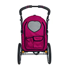 Two Large Pockets, Petique All Terrain Pet Jogger, Pet Travel, Dogs and Cats