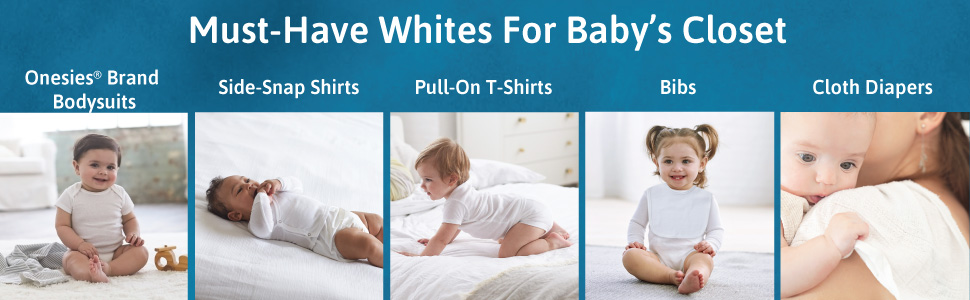 Must Have Whites for Baby's Closet