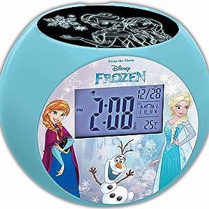 Lexibook - Despertador Digital, Azul (Frozen): Amazon.es: Juguetes ...