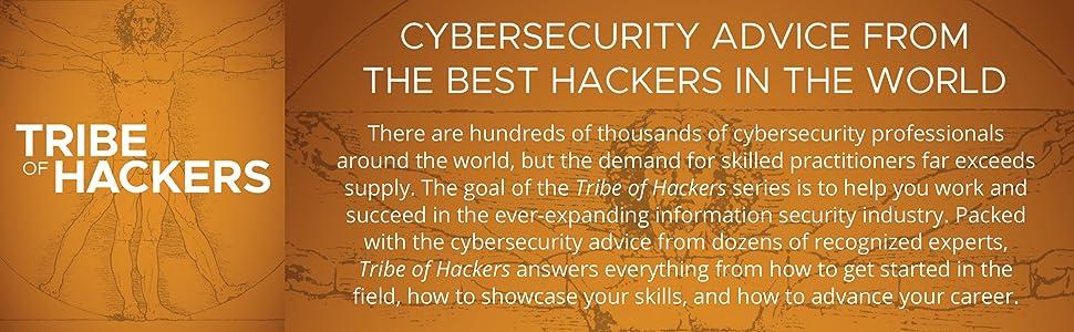 tribe of hackers, marcus j. carey, jennifer jin, cybersecurity, hacking, cybersecurity careers