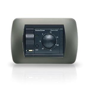 Fantini cosmi c48b termostato ambiente da incasso con for Fantini cosmi c48