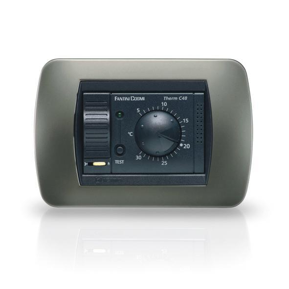 Fantini cosmi c48b termostato ambiente da incasso con for Fantini cosmi c57 prezzo