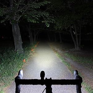VOLT400 HL-EL461RC 自転車ヘッドライト 前照灯 ロードバイク クロスバイク ミニベロ 小径車 ロングライド カートリッジバッテリー