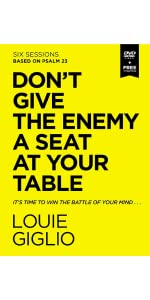 dont give the enemy a seat at your table dvd