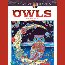 Adult Coloring, Owls, Animals