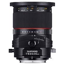 Samyang 24mm F3 5 T S Objektiv Für Anschluss Pentax K Kamera