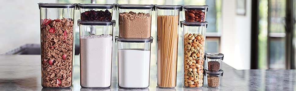Canisters, Brilliance Food Storage, Pet Food Storage, Food Canisters, Meal Prep