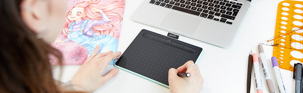 wacom intuos small with bluetooth