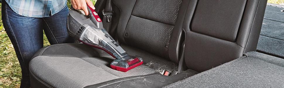 BLACK+DECKER dustbuster QuickClean Car Cordless Hand Vacuum