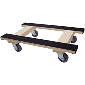 """Professional Heavy Duty Moving Dolly with full length rubber tread, 18"""" x 30"""""""