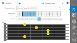 jamstik+ App(コンパニオンアプリ)画像 スマートギター スマートトイ jamstik MIDIコントローラー ギター iPhone Android Mac