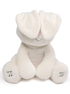 Baby GUND Flora the Bunny Rabbit Animated Plush Stuffed Animal Toy, Cream, 12""