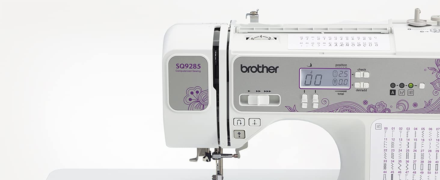 Computerized Quilting and Sewing Machine